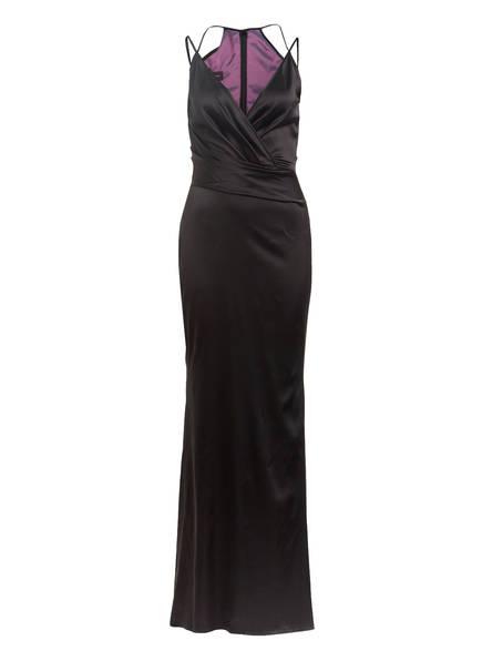 TALBOT RUNHOF Satin-Abendkleid BONEY 1, Farbe: SCHWARZ (Bild 1)