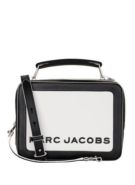 MARC JACOBS Umhängetasche THE BOX, Farbe: SCHWARZ/ WEISS (Bild 1)