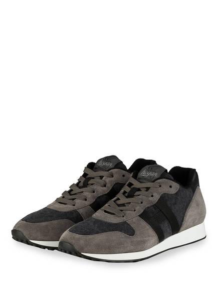 HOGAN Sneaker H429, Farbe: DUNKELGRAU/ GRAU (Bild 1)