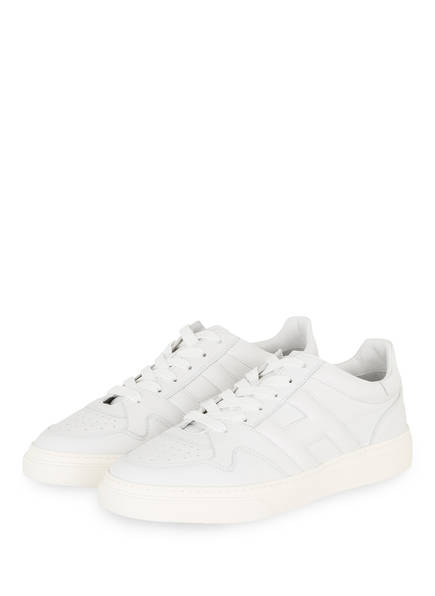 HOGAN Sneaker BASKET BASSO, Farbe: WEISS (Bild 1)
