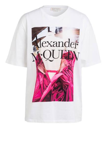 ALEXANDER McQUEEN Oversized-Shirt, Farbe: WEISS (Bild 1)