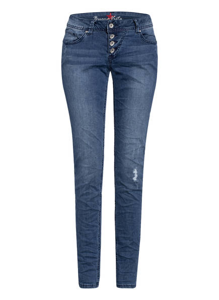 Buena Vista Skinny Jeans MALIBU, Farbe: 3097 DARK BLUE (Bild 1)
