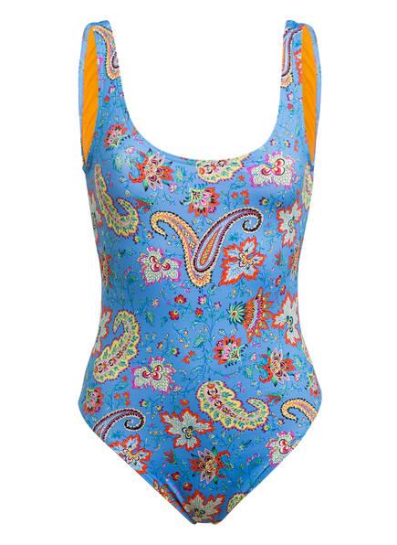ETRO Badeanzug , Farbe: HELLBLAU/ ORANGE/ GELB (Bild 1)