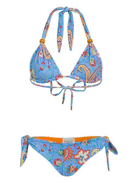 ETRO Traingel-Bikini , Farbe: HELLBLAU/ ORANGE/ GRÜN (Bild 1)