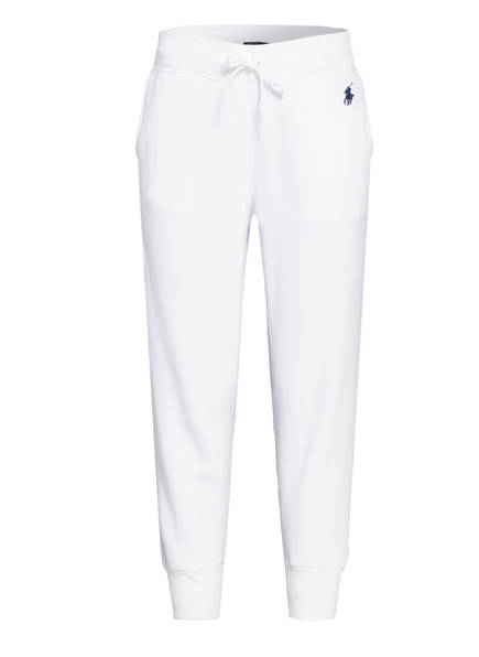 POLO RALPH LAUREN 7/8-Sweatpants, Farbe: WEISS (Bild 1)