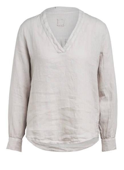120%lino Blusenshirt aus Leinen , Farbe: HELLGRAU (Bild 1)