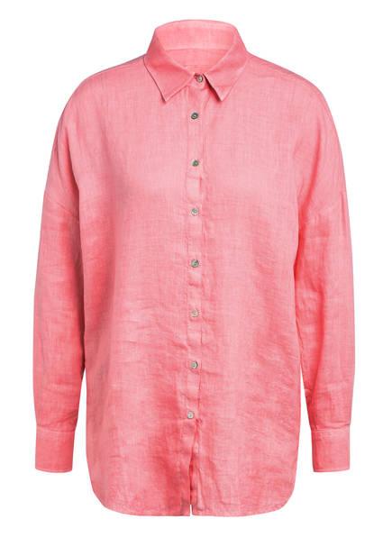 120%lino Hemdbluse aus Leinen , Farbe: ROSA (Bild 1)