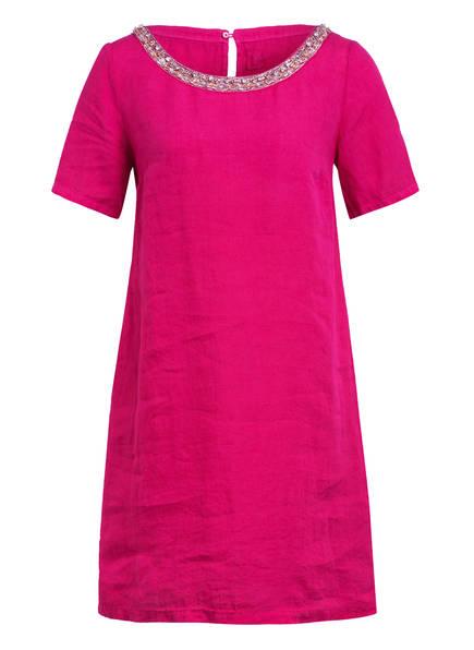 120%lino Leinenkleid, Farbe: FUCHSIA (Bild 1)