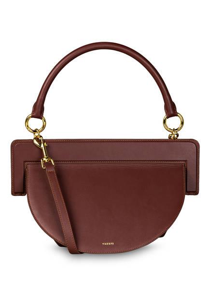 YUZEFI Handtasche MAUDE, Farbe: DUNKELBRAUN (Bild 1)