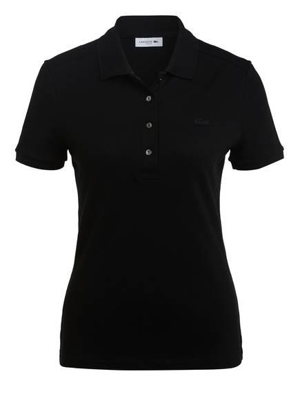 LACOSTE Piqué-Poloshirt, Farbe: SCHWARZ (Bild 1)