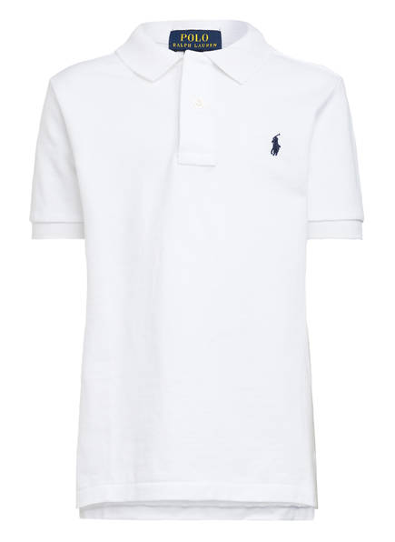 POLO RALPH LAUREN Piqué-Poloshirt, Farbe: WEISS (Bild 1)