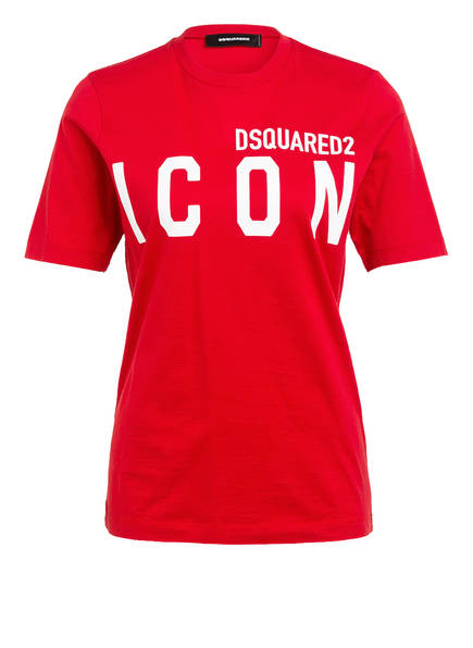 DSQUARED2 T-Shirt ICON, Farbe: ROT (Bild 1)