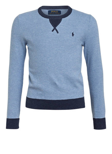 POLO RALPH LAUREN Pullover, Farbe: DUNKELBLAU/ GRAU (Bild 1)