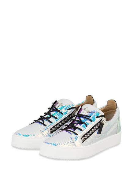 GIUSEPPE ZANOTTI DESIGN Sneaker FRANKIE, Farbe: LILA/ TÜRKIS (Bild 1)
