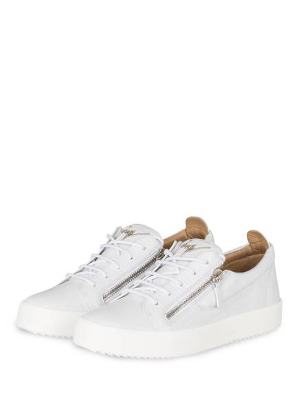 GIUSEPPE ZANOTTI DESIGN Sneaker FRANKIE CROCO, Farbe: WEISS (Bild 1)