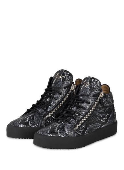 GIUSEPPE ZANOTTI DESIGN Sneaker KRISS PYTHON, Farbe: DUNKELGRAU/ WEISS (Bild 1)