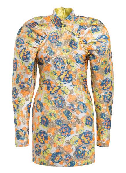 ROTATE BIRGER CHRISTENSEN Kleid KIM, Farbe: WEISS/ NEONORANGE/ GOLD (Bild 1)