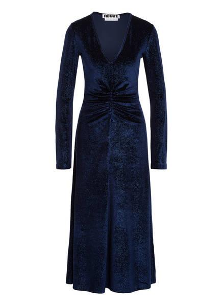 ROTATE BIRGER CHRISTENSEN Kleid NUMBER 7 , Farbe: DUNKELBLAU (Bild 1)