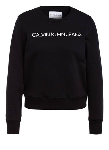 Calvin Klein Jeans Sweatshirt , Farbe: SCHWARZ (Bild 1)