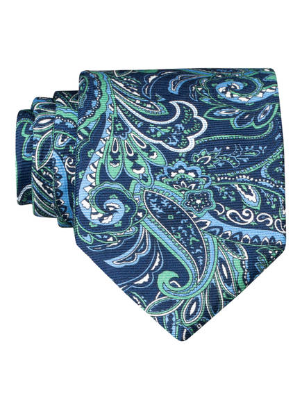 PAUL Krawatte, Farbe: BLAU/ GRÜN (Bild 1)