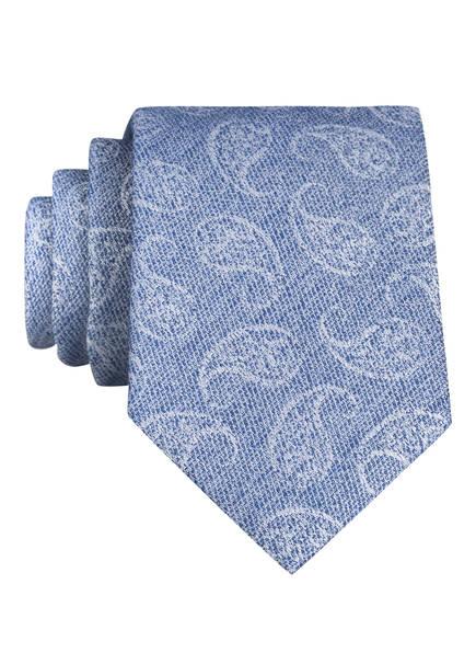 PAUL Krawatte , Farbe: HELLBLAU/ WEISS (Bild 1)