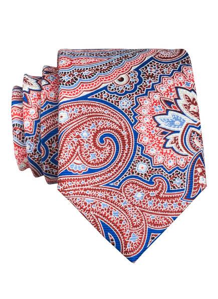 PAUL Krawatte, Farbe: HELLROT/ BLAU/ DUNKELROT (Bild 1)