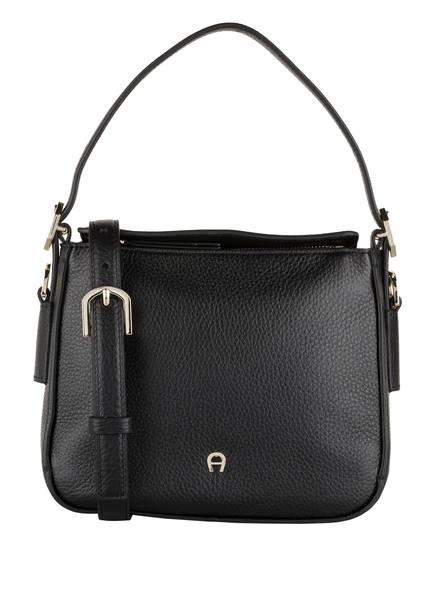 AIGNER Handtasche ELBA S, Farbe: SCHWARZ (Bild 1)