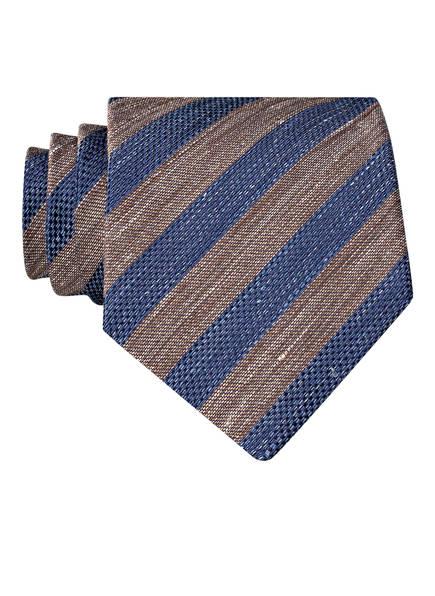 OLYMP SIGNATURE Krawatte, Farbe: BRAUN/ BLAU (Bild 1)