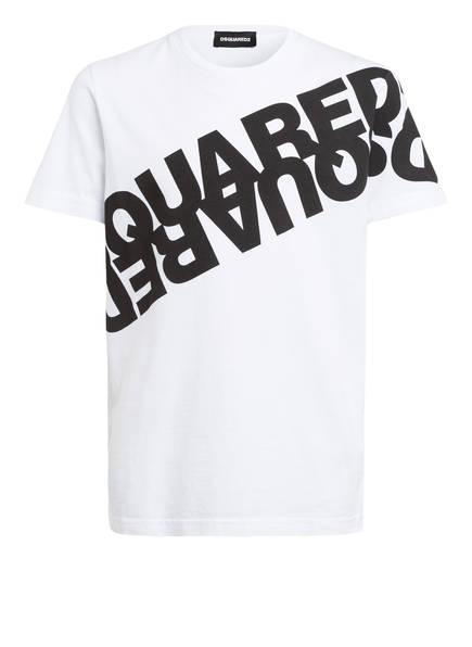 DSQUARED2 T-Shirt, Farbe: WEISS/ SCHWARZ (Bild 1)
