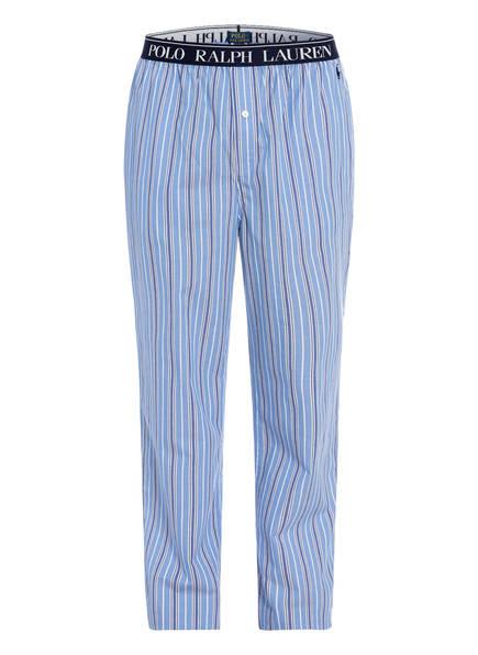 POLO RALPH LAUREN Schlafhose , Farbe: HELLBLAU/ WEISS GESTREIFT (Bild 1)