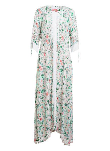 RIANI Kleid mit 3/4-Arm, Farbe: HELLGRÜN/ HELLROT (Bild 1)
