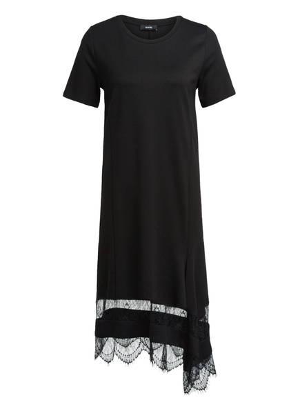 RIANI Jerseykleid mit Spitzenbesatz, Farbe: SCHWARZ (Bild 1)