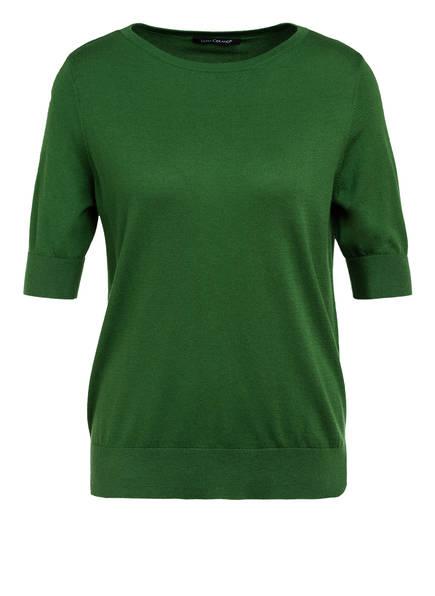 LUISA CERANO Strickshirt aus Seide, Farbe: GRÜN (Bild 1)