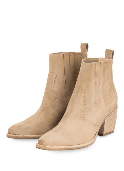 KENNEL & SCHMENGER Cowboy Boots, Farbe: BEIGE (Bild 1)