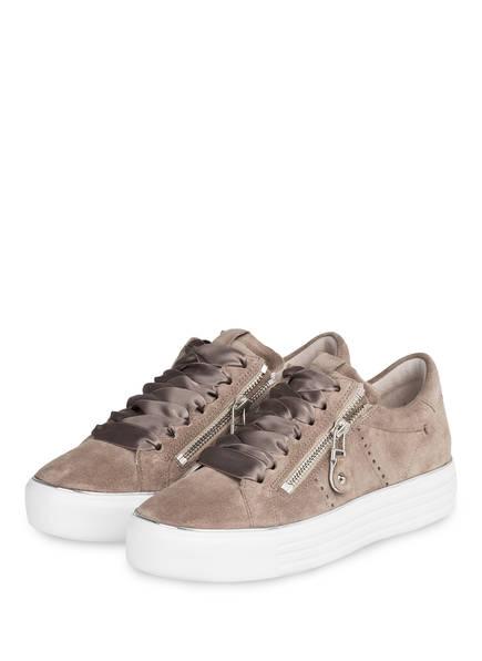 KENNEL & SCHMENGER Plateau-Sneaker, Farbe: BEIGE (Bild 1)