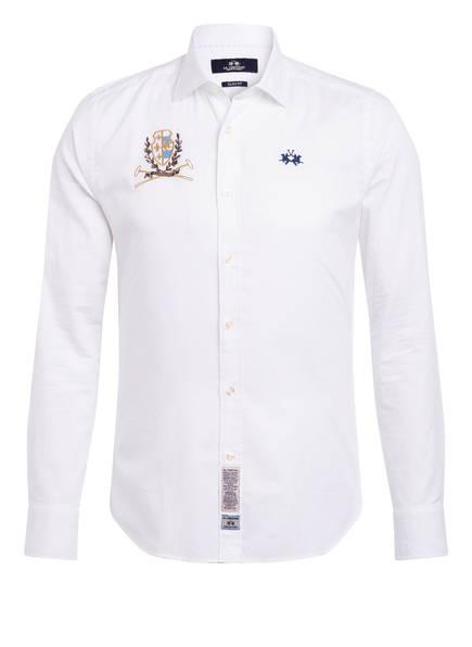 LA MARTINA Oxfordhemd Slim Fit, Farbe: WEISS (Bild 1)