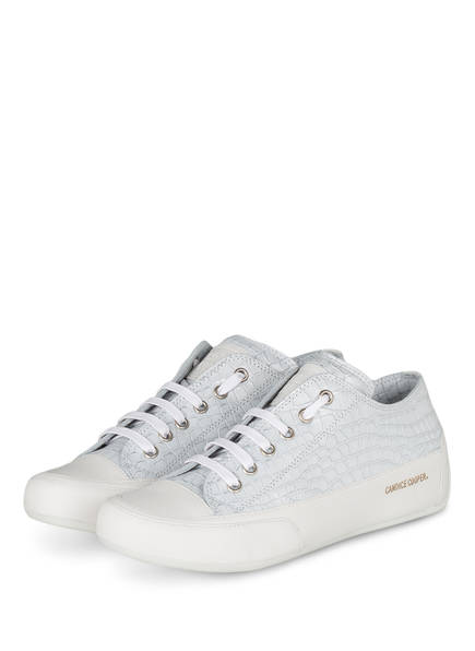 Candice Cooper Sneaker ROCK, Farbe: WEISS/ HELLGRAU (Bild 1)
