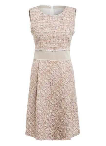 NVSCO Tweed-Kleid mit Glitzergarn, Farbe: BEIGE/ CREME/ ROSA (Bild 1)