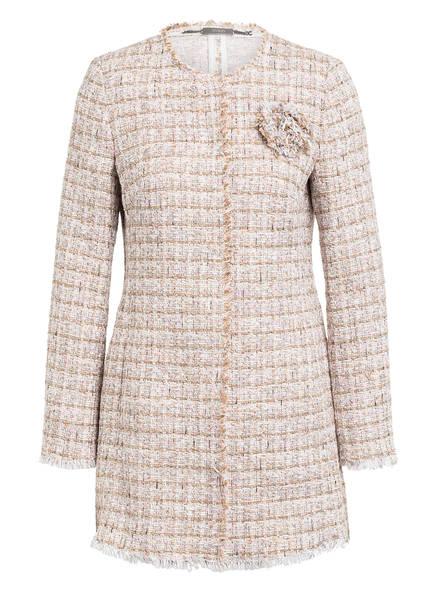 NVSCO Tweed-Mantel, Farbe: BEIGE/ CREME/ ROSA (Bild 1)