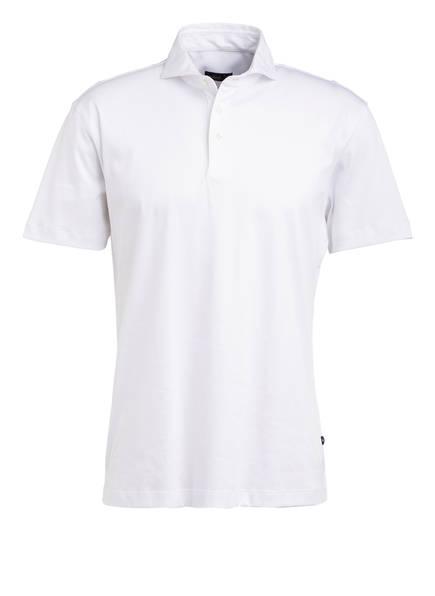 van Laack Jersey-Poloshirt PESO, Farbe: WEISS (Bild 1)
