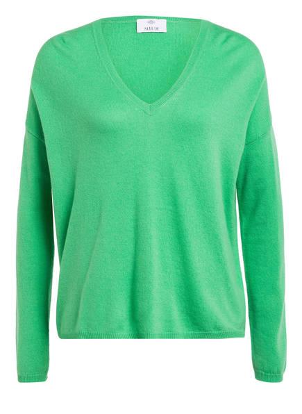 ALLUDE Cashmere-Pullover, Farbe: GRÜN (Bild 1)