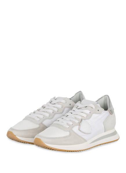 PHILIPPE MODEL Sneaker TRPX, Farbe: WEISS/ HELLGRAU (Bild 1)