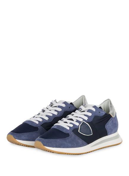 PHILIPPE MODEL Sneaker MONDIAL BLUE, Farbe: DUNKELBLAU (Bild 1)