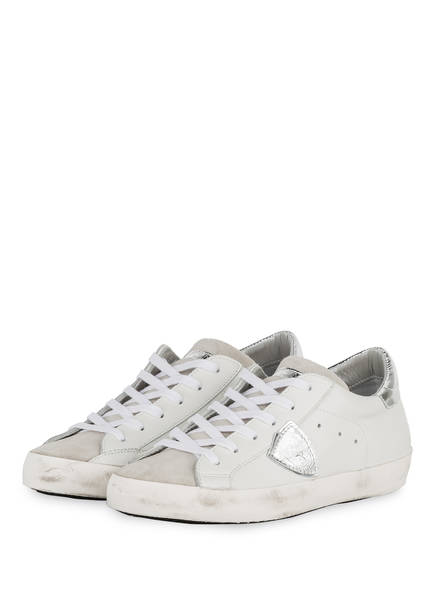 PHILIPPE MODEL Sneaker PARIS LD, Farbe: HELLGRAU/ WEISS (Bild 1)