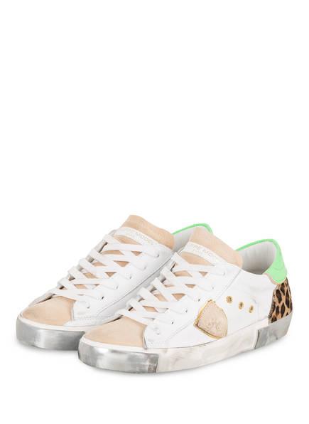 PHILIPPE MODEL Sneaker PRSX LD, Farbe: WEISS/ BEIGE (Bild 1)