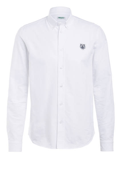 KENZO Oxfordhemd TIGER Casual Fit, Farbe: WEISS (Bild 1)