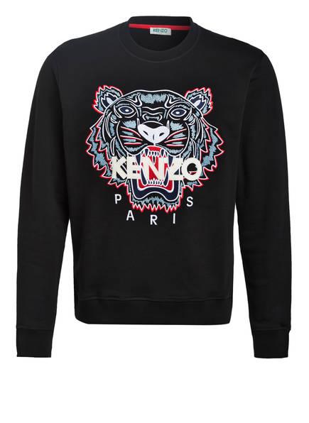 KENZO Sweatshirt TIGER , Farbe: SCHWARZ/ BLAU/ WEISS (Bild 1)