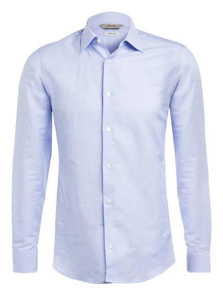 ZZegna Hemd Regular Fit mit Leinen , Farbe: HELLBLAU (Bild 1)