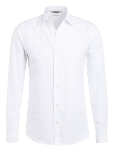 ZZegna Hemd mit Leinen Slim Fit , Farbe: WEISS (Bild 1)