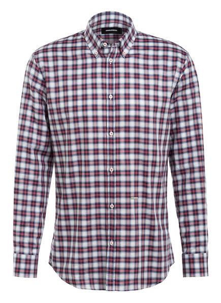 DSQUARED2 Hemd Extra Slim Fit, Farbe: WEISS/ BLAU/ ROT KARIERT (Bild 1)